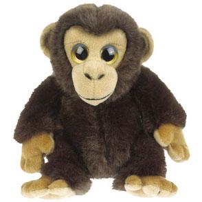 Chimpanse abe bamse fra Wild Republic er super sød