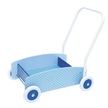 Blå gåvogn fra svenske JaBaDaBado