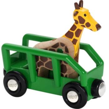 BRIO togvogn med giraf