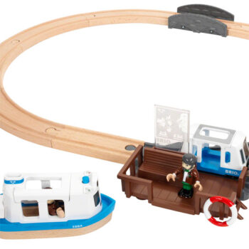 BRIO færgesæt er en komplet togbane