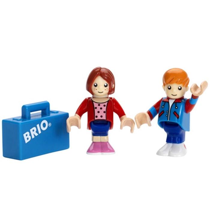 De rejsende er en vigtig detalje til BRIO togsæt