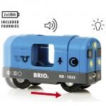 BRIOs metro lokomotiv kører helt af sig selv
