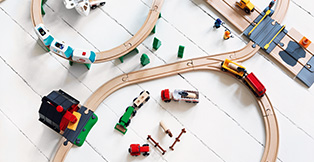 Legetøj Online har et udvalg af BRIO tog produkter med hurtig levering