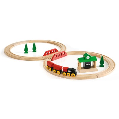 her er den klassiske brio togbane som stadig er populaer