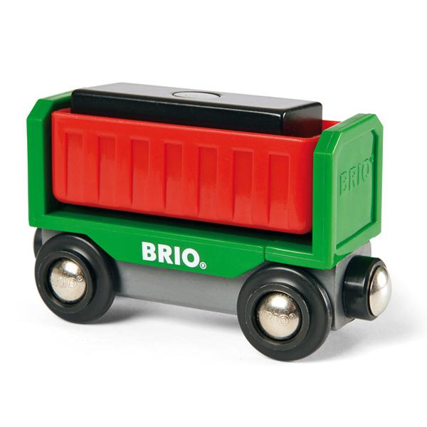 Den moderne variant af denne BRIO togvogns klassiker