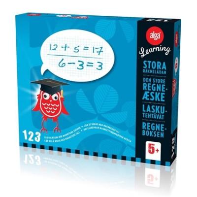 Den store regneaeske er et læeringsspil fra algas learning serie