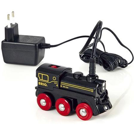 Sort BRIO elektronisk lokomotiv