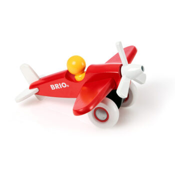 det lille fly fra BRIO tilverket i træ