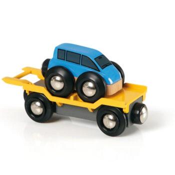 BRIO togvogn med biler