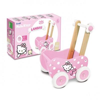Hello Kitty gåvogn sammen med emballlagen