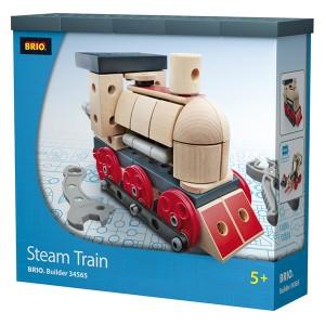BRIO builder emballade til lokomotivet