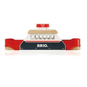 Klassisk BRIO faerge som i denne udgave har baade lyd og lys