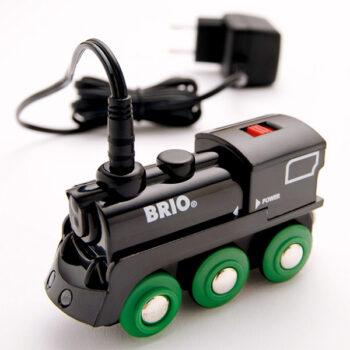 BRIO tog lokomotiv som kan genoplades