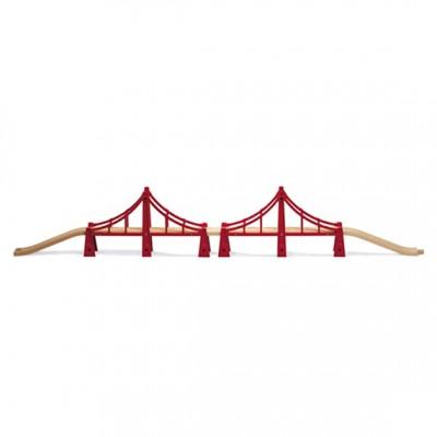 BRIO hængebro i den lange version