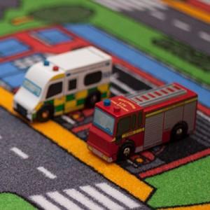 Legetøjsbrandbil fra Le Toy Van rigtigt kvalitets legetøj