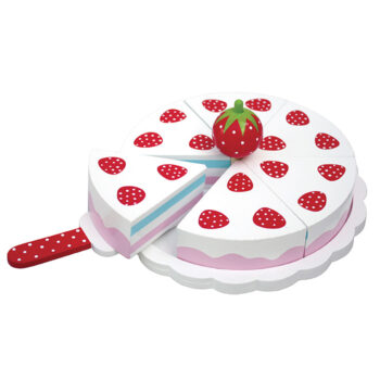Jordgubbstårta en ægte svensk klassiker, på dansk en simpel lagkage eller jordbærtærte om man vil