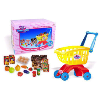 Legetøjs indkøbskurv til legekøkkenet fra Legetøj Online