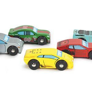 Monte Carlo legetøjsbiler i Træ fra Le Toy Van