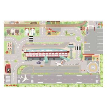My First Airport legetæppe fra Le Toy Van sendes hurtigt fra Legetøj Online