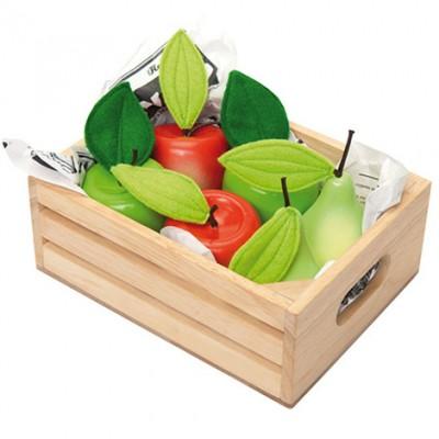 1 kasse med pærer og æbler fra Le Toy Van