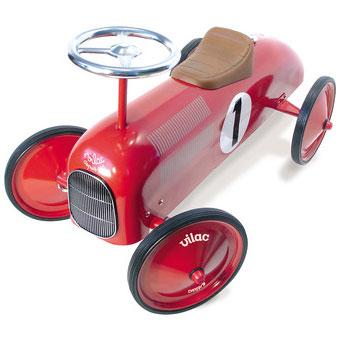 Rød Vilac gåbil retro modellen er et sikkert hit