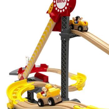 BRIO rutsjebane til dit togbanesæt