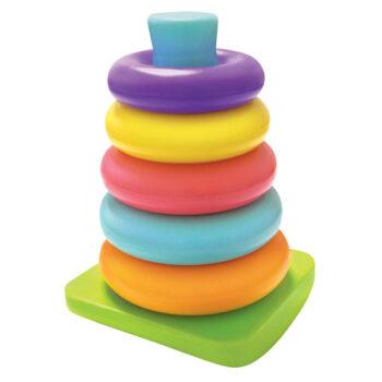 Ringe i flere farver som kan stables