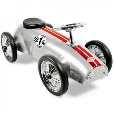 Vilacs sølvgrå gåbil fra Speedster serien