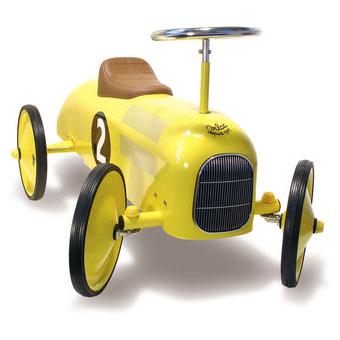 Vilac gåbil i gul, en rigtig kvalitets legetøjs klassisker