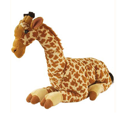 Stor giraf bamse fra Wild Republic